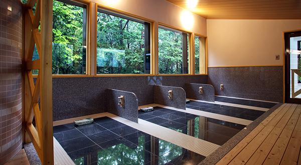Bedrock bath