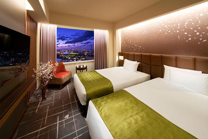 Suite 59m² Bed room (Tower Floor)