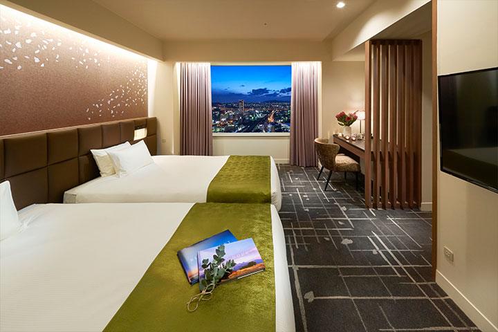 Suite 65m² Bed room (Tower Floor)