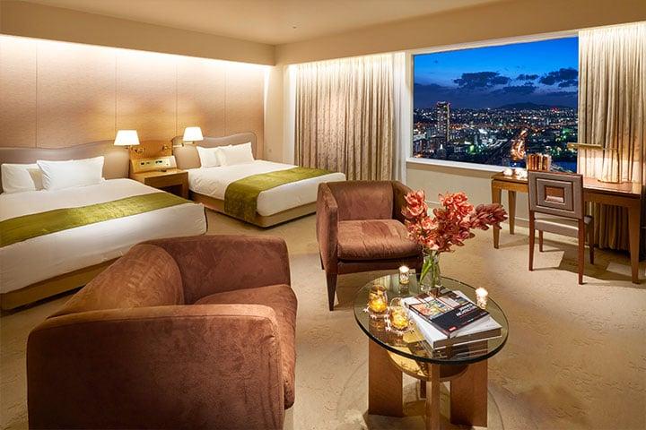 Suite 121m² Bed room (Tower Floor)