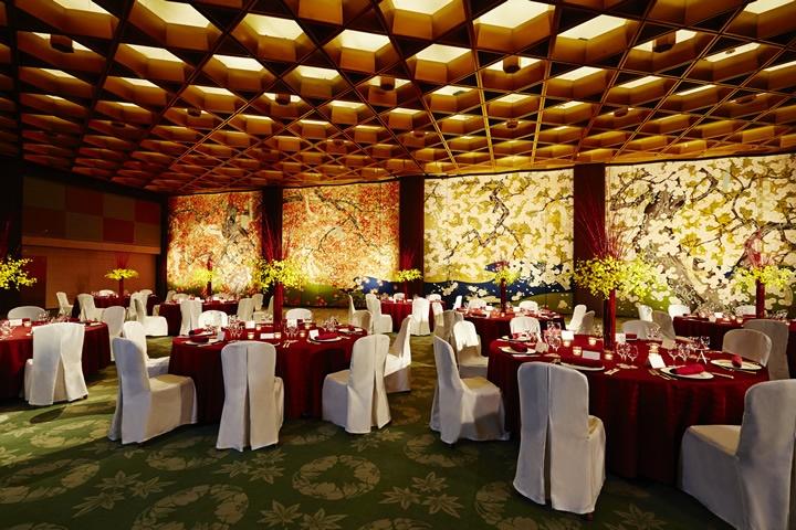 Sanraku - Banquet Style (Round Table)