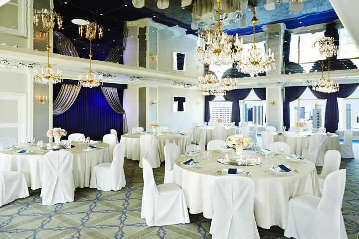 Crown Room - Banquet Style (Round Table)